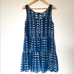 Dresses & Skirts - J.Crew Indigo Dyed Summer Dress